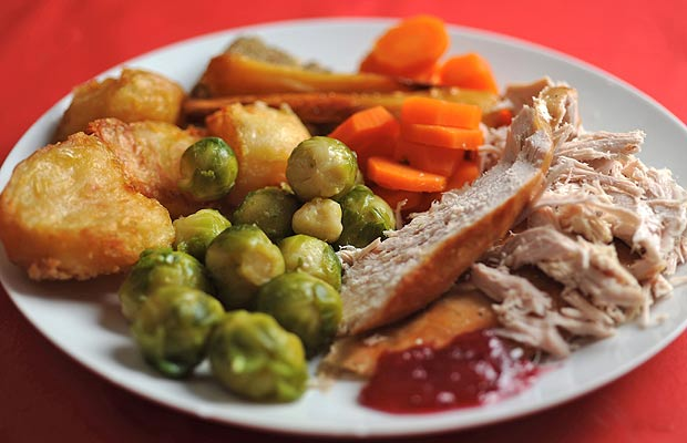 all - British Christmas Dinner